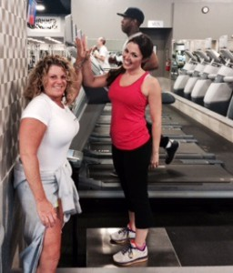 My weigh in at Synergy Fitness 3 weeks ago- hitting the 20 lb mark!