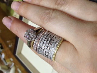 ring stacked